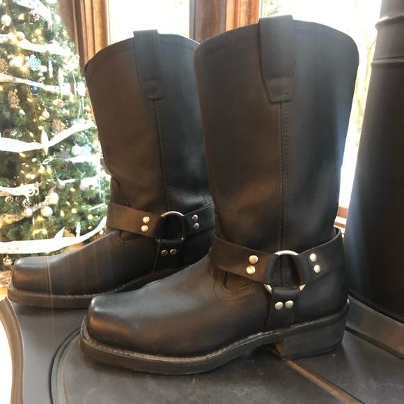 3642a2fd2af Cody James Men's Black Harness Boots